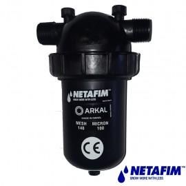 "Filtre Arkal 1\"" court 100 microns"