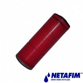 """Filtre Arkal 1\""""+1\""""1/2 court supp.+ lamelles rouge 130 mic"""