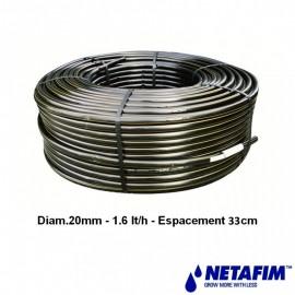 Uniram AS 20 - 1,6 l/h - 30 cm