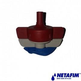 Spinnet 120lt/h rouge turbine bleue